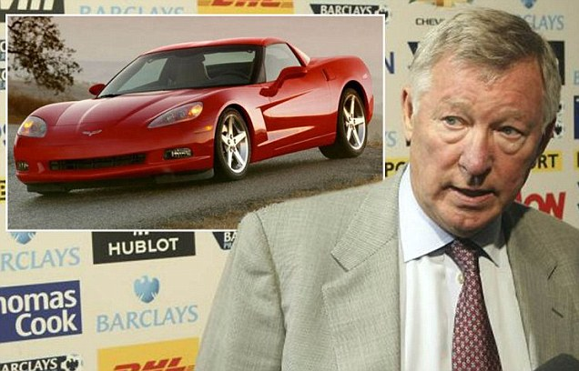 Fergie bans Manchester United Chevrolet Partnership